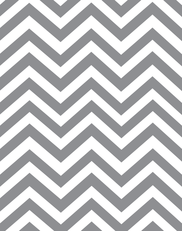 Grey & White chevron paper