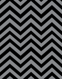 Black & Grey chevron paper