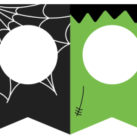 Mix & Match Halloween Garland Printable