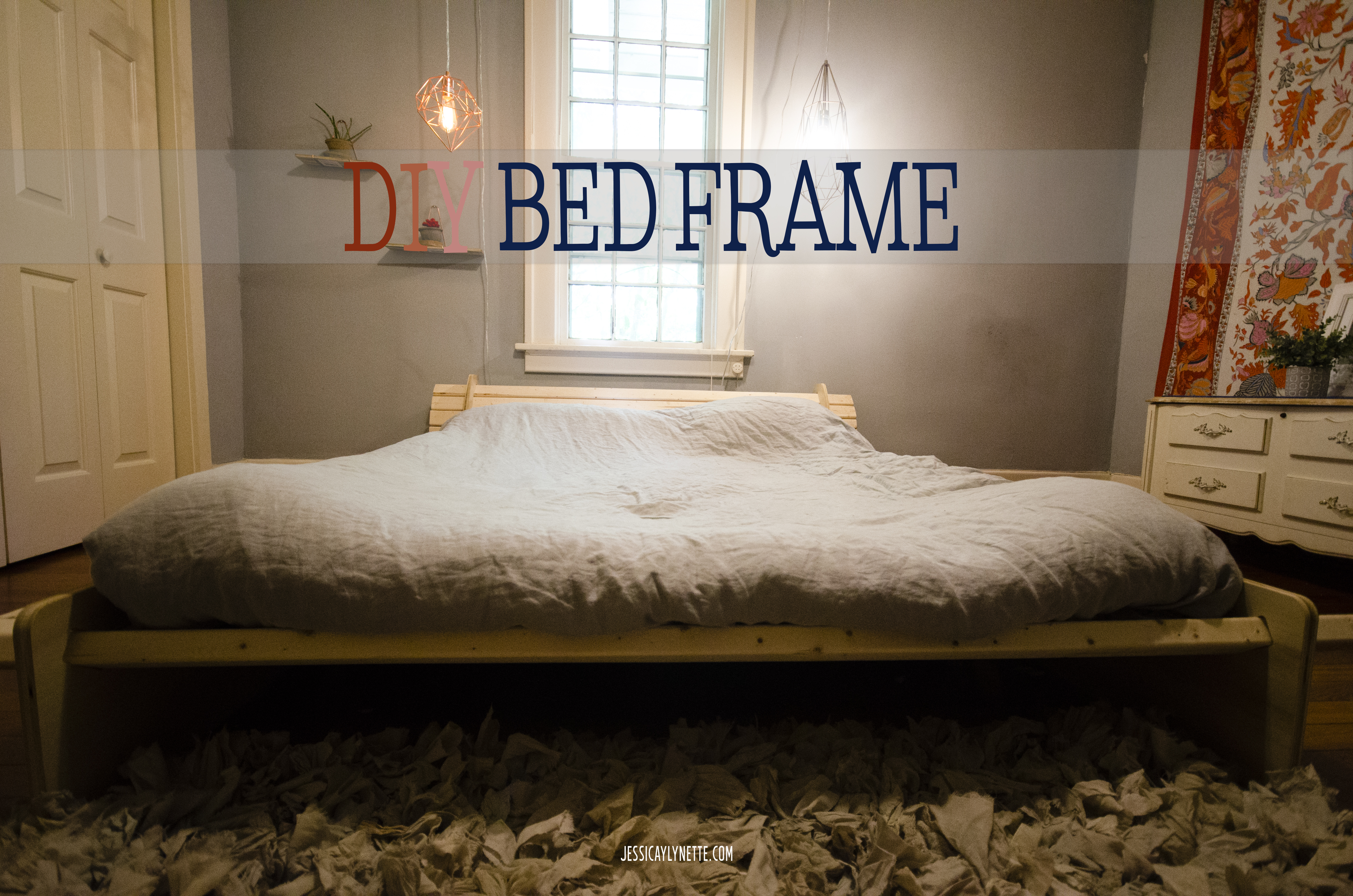 Peculiar I Am So Excited To Share Our Latest Diy Project A Minimalist Bed  Framethat Gets