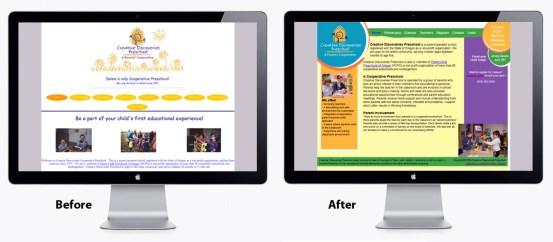 Creative Discoveries, graphic design Salem