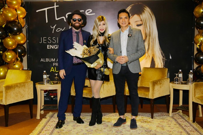 Jessie Chung English Album There You Are Press Conference in Malaysia