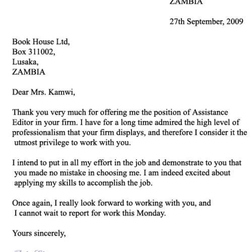 formalni dopis vzor