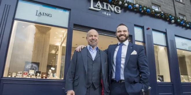 New Laing Edinburgh store opens.
