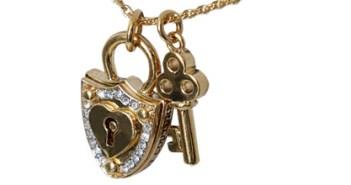 key and locket jewellery