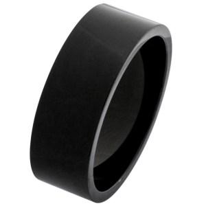 black wedding ring
