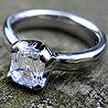 designer platinum diamond ring