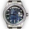Platinum watch