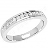 platinum eternity ring channel