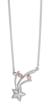 Clogau Make a Wish necklace with diamonds £159