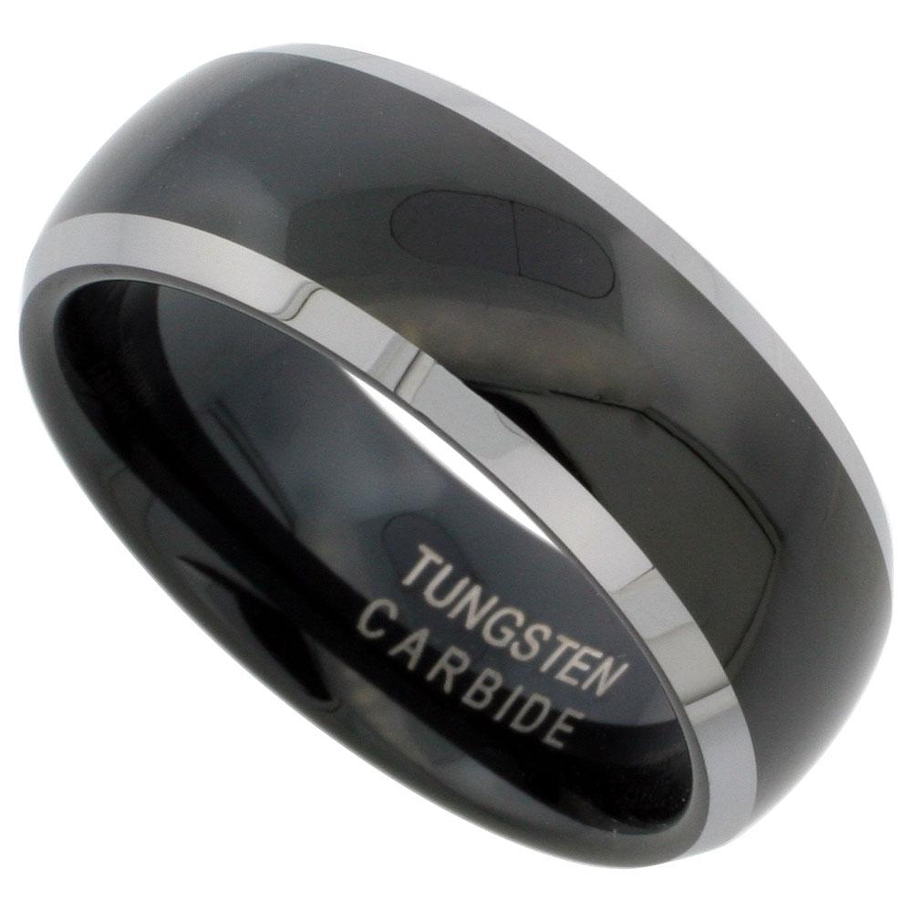 weddingbandspage6 tungsten carbide wedding rings black finish tungsten carbide wedding ring