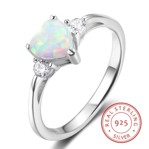 Medium Of Silver Engagement Rings
