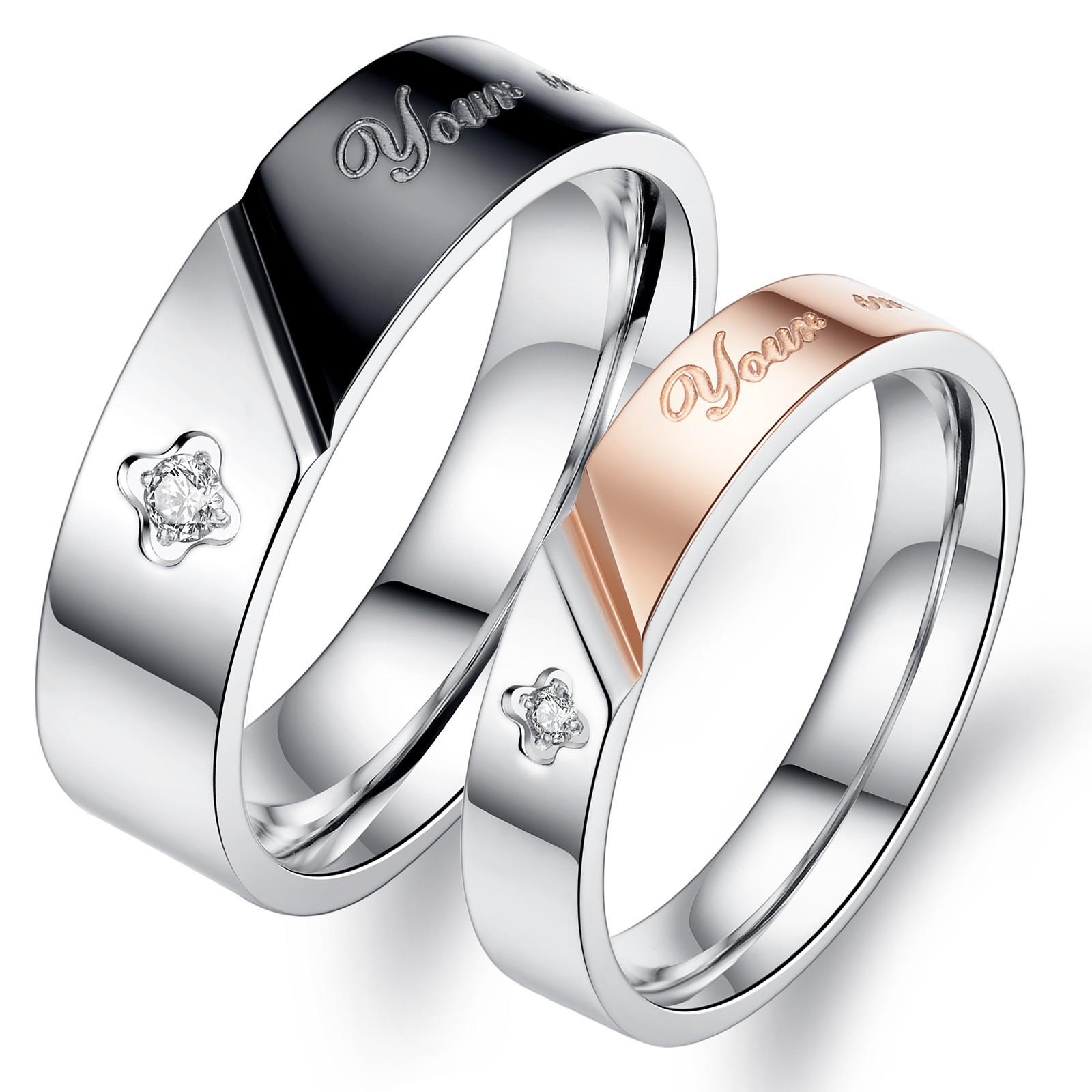 Fullsize Of Titanium Engagement Rings