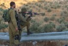 IDF Soldiers during routine defense activity in Judea and Samaria.