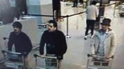 Belgian police released this photo of the three suspected ISIS killers; the two on the left are presumed to have been the Brussels airport suicide bombers.