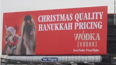 Offensive Vodka Ad