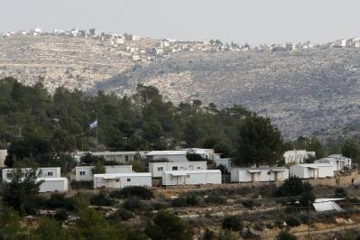 Caravans in Halamish