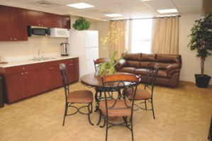 Jewish hospitality and Shabbat room at Boca Raton Regional Hospital.
