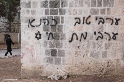 Jerusalem mosque vandalized
