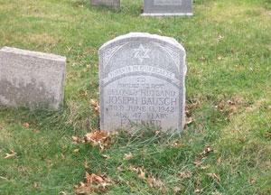 Jewish monument, Green-Wood Cemetery.