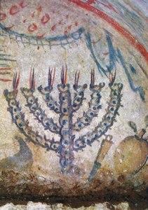 Roman Jewish Catacomb. 3rd century.