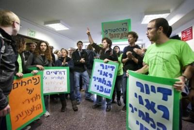 Housing Protest November, 2011