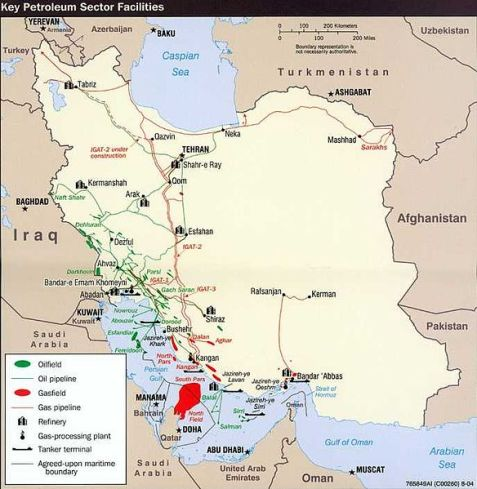 Iran_Oil_Map