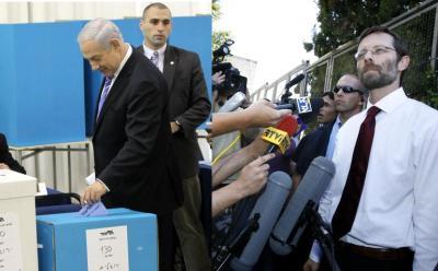 Netanyahu and Feiglin