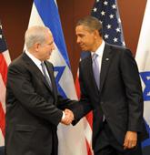 Netanyahu and Obama meet