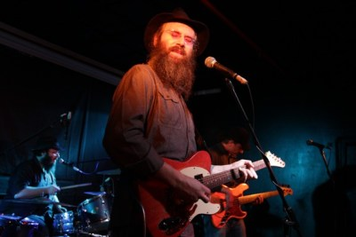 Lazer Lloyd plays at Tel Aviv Blues Fest