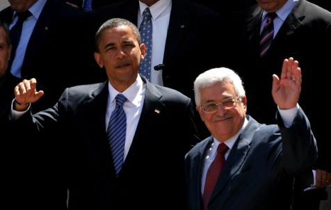 Obama and Abbas. One of them is lying and one of them won't listen to the truth.