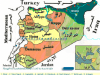 Demographic map of Syria