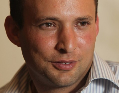 Naftali Bennett, Education Minister and chairman of Bayit Yehudi party.
