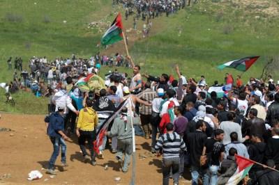 Arabs protest on 'Nakba Day'