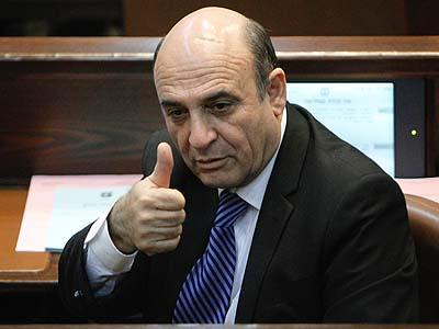 New Kadima leader MK Shaul Mofaz.