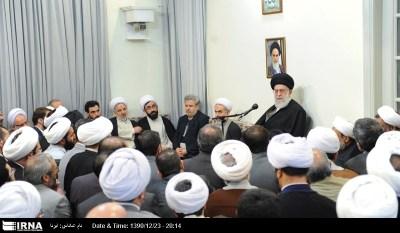 Iranian supreme leader Ayatollah Khameini