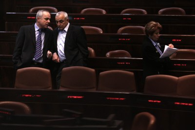 Knesset in session