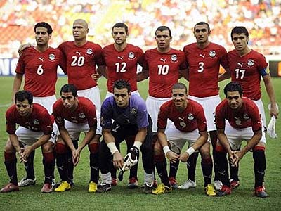 Egypt&#039;s national team, The Pharaohs.