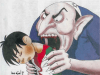 Before: A Jew devouring a Palestinian child, by Palestinian cartoonist Omaya Joha in the newspaper Al-Raya, Qatar.