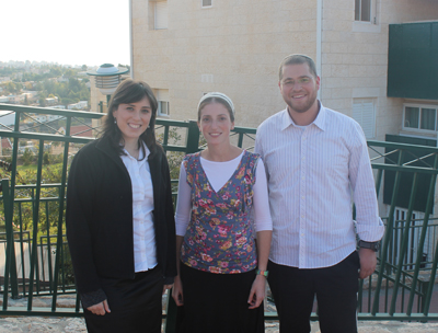 (L-R) MK Tzipi Hotovely with Oriya and Didi Dickstein