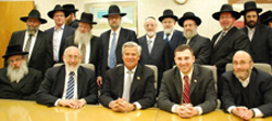 Chaim Israel, back row, fourth from right.