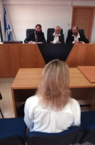 A Rabbinate Conversion Court in Jerusalem.
