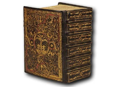 Christie's is auctioning a stunning, 400-page Machzor from 1490 Italy.