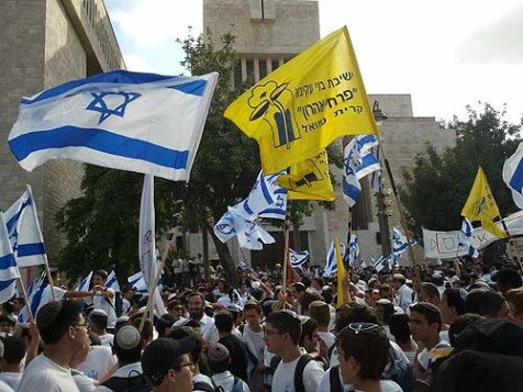 Jerusalem Day celebrations, May 20, 2012.