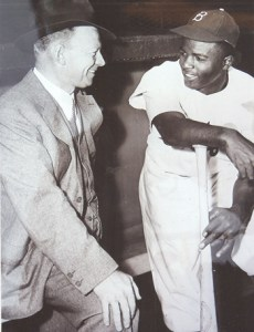Dodgers broadcaster Red Barber, who grew up with the prejudices of the South, had to learn to treat Jackie Robinson as an equal.