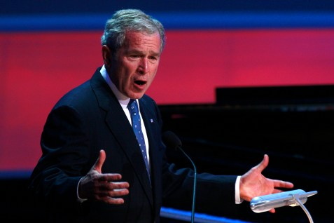 Former U.S. President George W. Bush