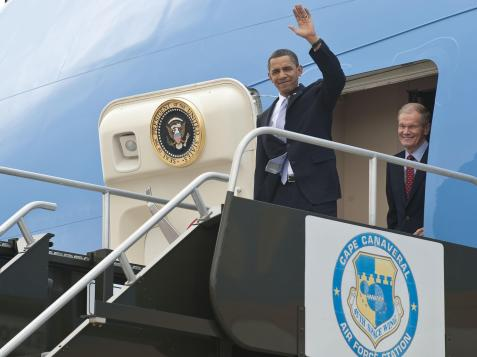 President Obama Visits Kennedy Space Center