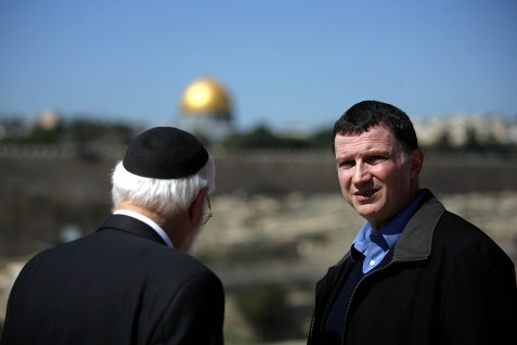 Minister of Diaspora and Public Affairs Yuli Edelstein.
