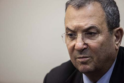 Israel's Defense Minister Ehud Barak warned Palestinians of a one-sided Israeli pullout.