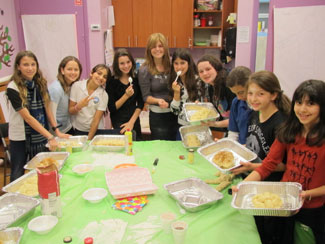 Bat mitzvah girls enjoy a full range of exciting events surrounding this important milestone.